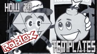 How to make your own template on Roblox Two Ways!