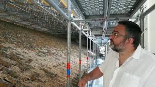 Sur le chantier de restauration de l'abbatiale de Saint Amant