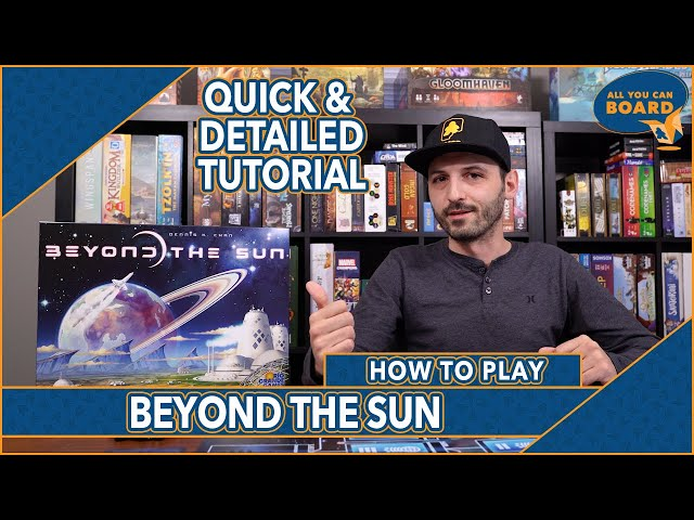 Beyond the Sun | How to Play | Worker Placement Powered by a Variable Tech Tree