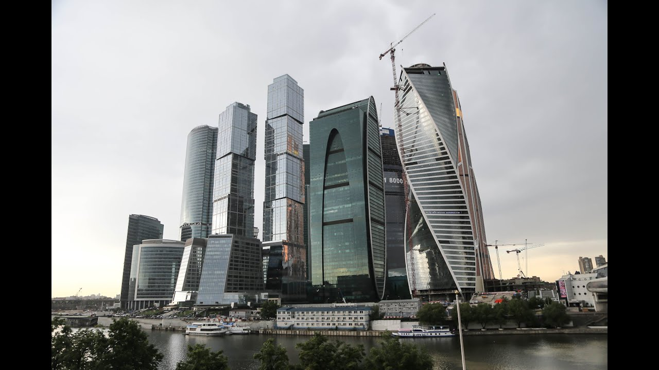Москва-сити / Moscow skyscrapers - YouTube