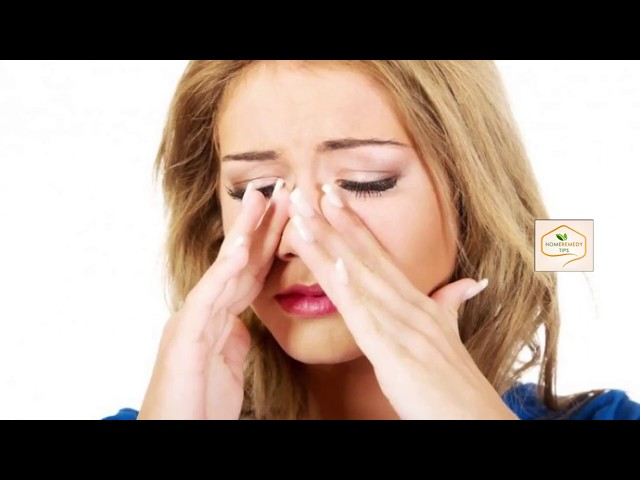 Sinus Home Remedy | Kills SINUS INFECTION In 20 Seconds With This Simple Method of The House!!