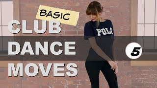 Club Dance Moves Tutorial For Beginners Part 5 (Basic CLUB DANCE Step) Heel Out