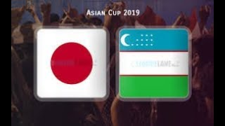 AFC ASIAN CUP 2019 Japan vs Uzbekistan LIVE