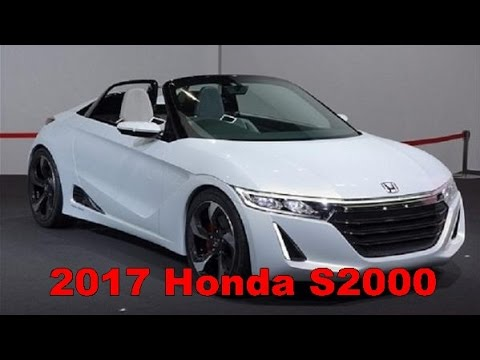 2017 Honda S2000 Exterior And Interior