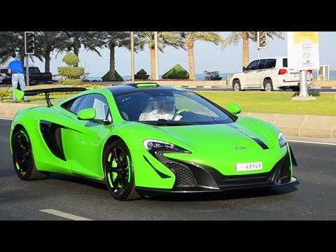 Super & Luxury Cars on the Corniche in Ramadan 2015