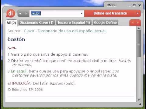 Definición De Bastón Youtube