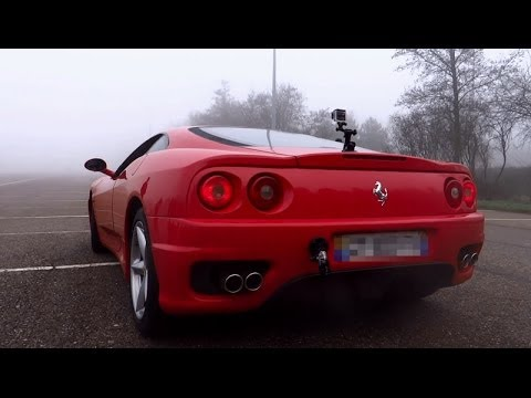 Ferrari 360 Modena Topspeed Exhaust Test Drive Acceleration Revings Sound Youtube