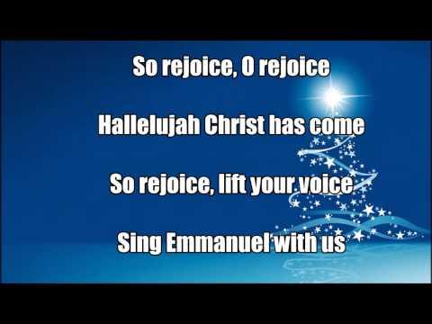 "Aaron Shust ""Rejoice"" with lyrics"