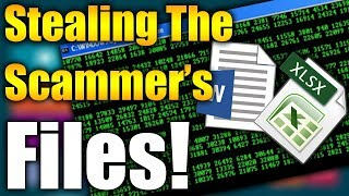 STEALING A SCAMMERS FILES! (Curses Me Out!) | Tech Support Scammers EXPOSED!