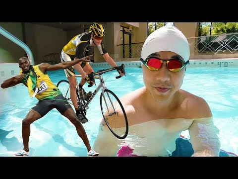 Swimming VS Running VS Cycling.. Which is Best? ��