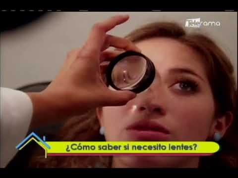 ¿Cómo saber si necesito lentes?