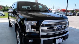 2016 Ford F150 Platinum Walkaround