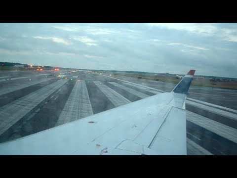 HD US Airways (Air Wisconsin) CRJ-200 Takeoff Richmond RIC