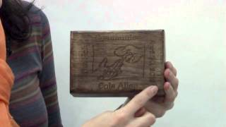 Personalized First Communion Wooden Keepsake Box