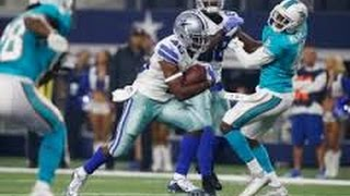 Alfred Morris | 2016 PS WK 2 Highlights | Dolphins vs. Cowboys