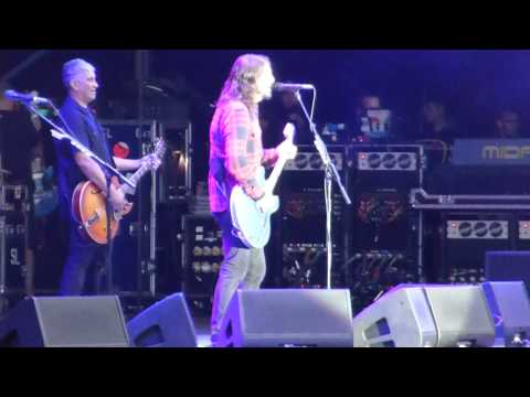 Foo Fighters 'Big me' Dave talks about Teenage Fanclub. Manchester 27/5/15