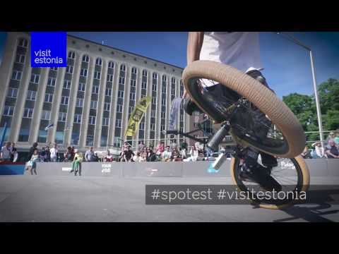 Estonia is the country of extreme sport and Simple Session