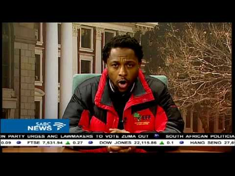 Motion of no confidence in Zuma will pass: Mbuyiseni Ndlozi