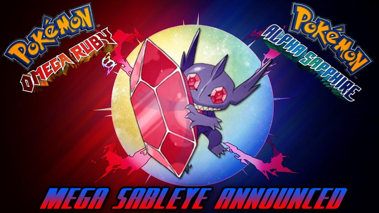 MEGA SABLEYE REVEALED!!! - Pokemon Omega Ruby & Alpha ...  MEGA SABLEYE RE...