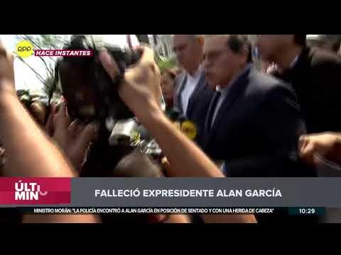 Alan García falleció tras dispararse en la cabeza