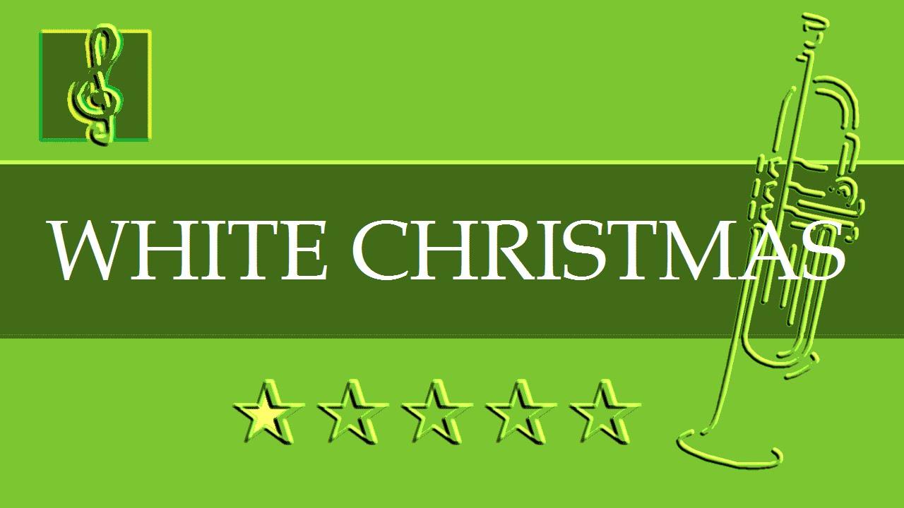 Trumpet guitar duet christmas song white christmas for Who wrote the song white christmas