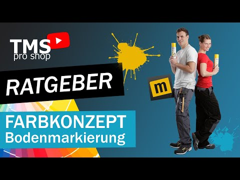 Speedwissen: Ganz Einfach Ein Farbkonzept Für Deine Bodenmarkierungen Erstellen | Markierungsshop.de