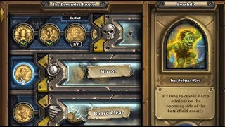 [Hearthstone] The Boomsday Project Solo Adventure. Mirror; Test Subject #362