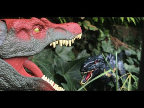 Indoraptor Vs Spinosaurus (Jurassic World Fallen Kingdom Toy Fight)