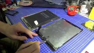 Ремонт iPad Air 2 - Замена стекла, как разобрать(Доброго времени! Сегодня мы покажем, как разобрать iPad Air 2 если вам требуется замена стекла iPad Air 2 http://www.Tech-Tow..., 2015-04-08T21:13:09.000Z)