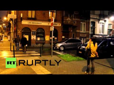 Belgium: Press gather outside bar owned by Paris attacks suspect in Brussels