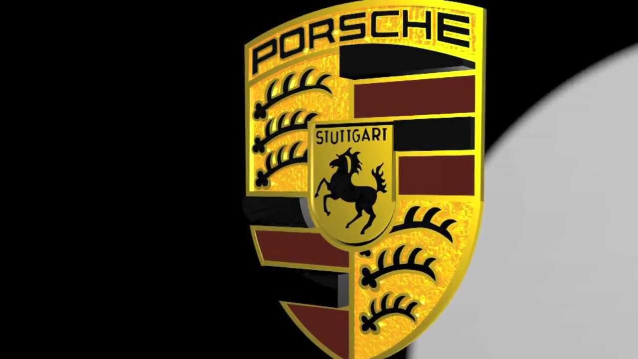 Wallpaper Desktop 3d Animation Porsche Logo Animation Youtube