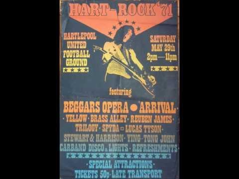 HART ROCK. 1971. BRASS ALLEY. PINK PILLS.