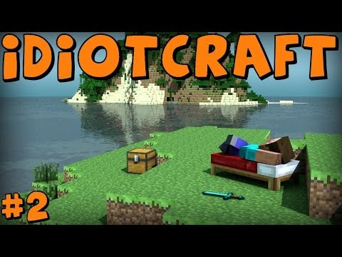 IdiotCraft | Part 2 | FIERY LAVA FILLED DEATH!