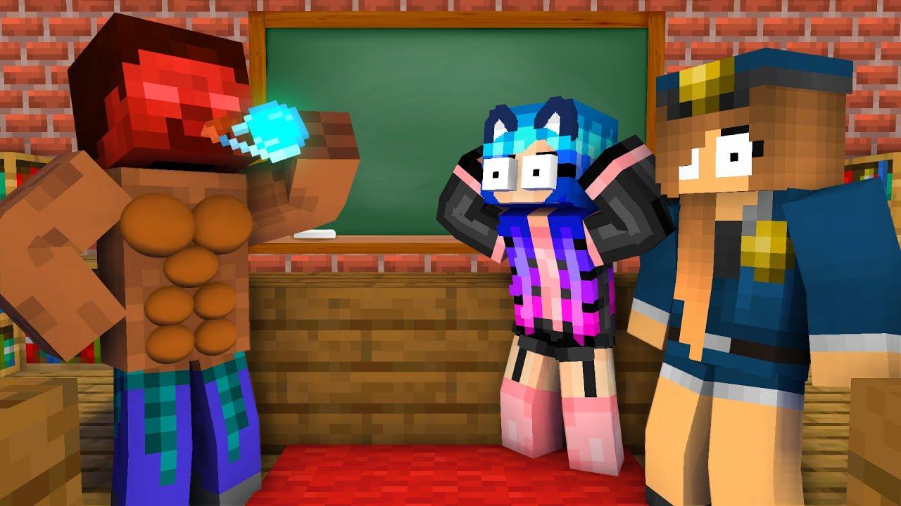 Download Monster School : EPIC HEROBRINE BREWING CHALLENGE - Minecraft Animation