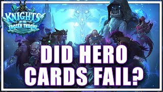Deathknight Analysis - Did Hero Cards Fail?