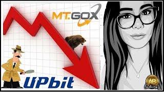 Crypto Market Dip AGAIN?! Altcoin Blood Bath: MT Gox at it AGAIN & UPbit Under INVESTIGATION