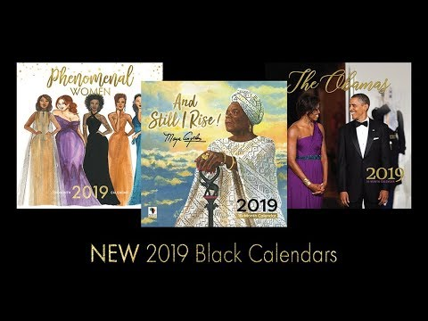 2019 Black Calendars - African American Expressions