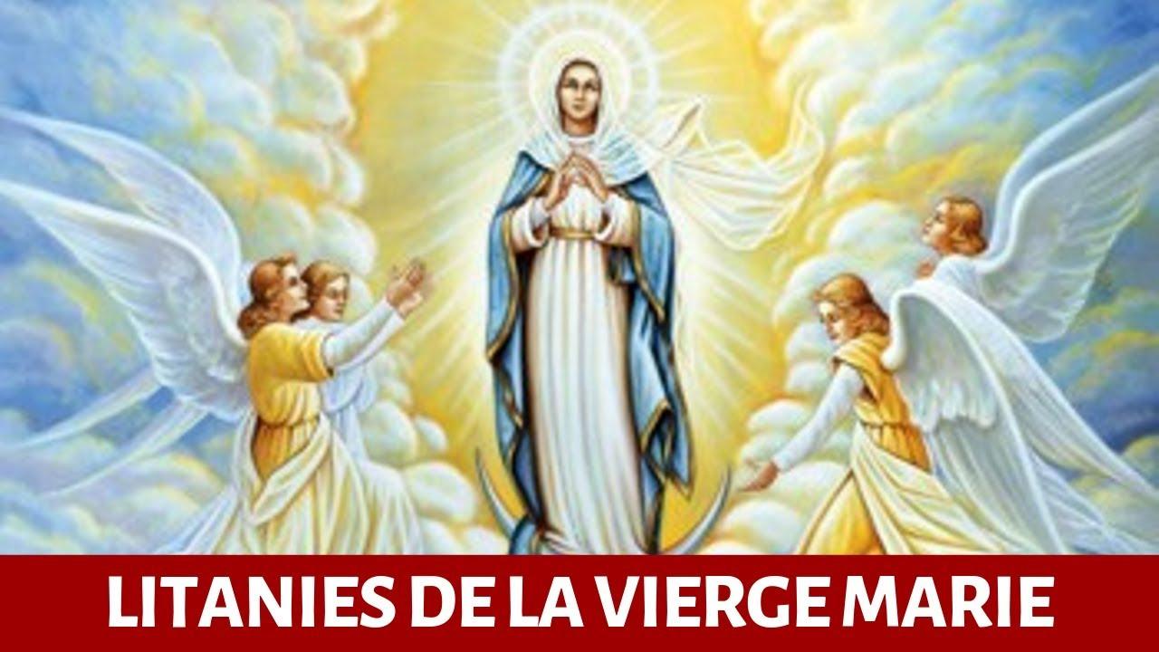 Litanie de la Vierge Marie - Prière à Marie - YouTube