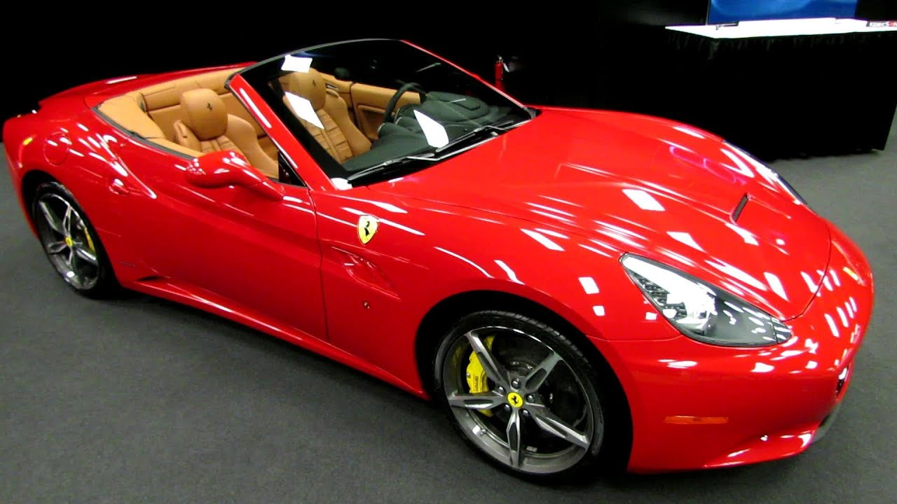 2014 Ferrari California Spyder Exterior And Interior Walkaround 2014 Montreal Auto Show Youtube