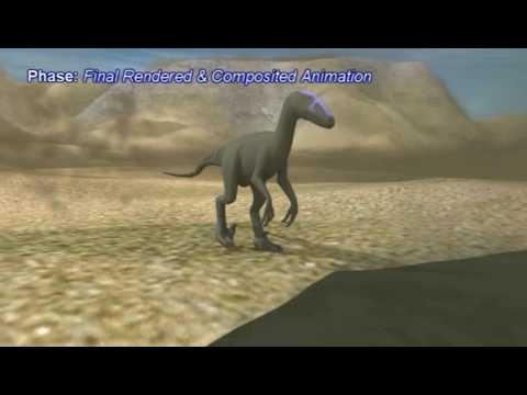 Deinonychus Scene - Animation & Analysis