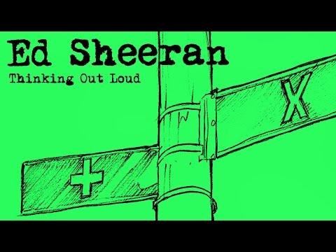 thinking out loud ed sheeran lyrics and chords