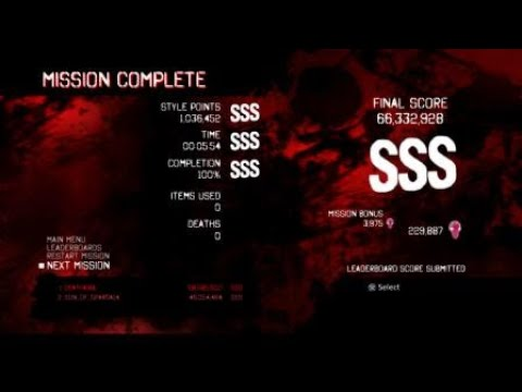 DmC Devil May Cry DE GMD(Dante) Mission 10 SSS Rank Clear |