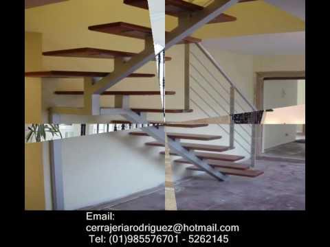 Estructuras metalicas carpinteria metalica youtube for Diseno de escaleras metalicas de interior