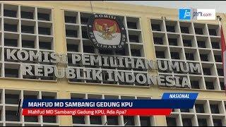 Mahfud MD Sambangi Gedung KPU, Ada Apa? - JPNN.COM