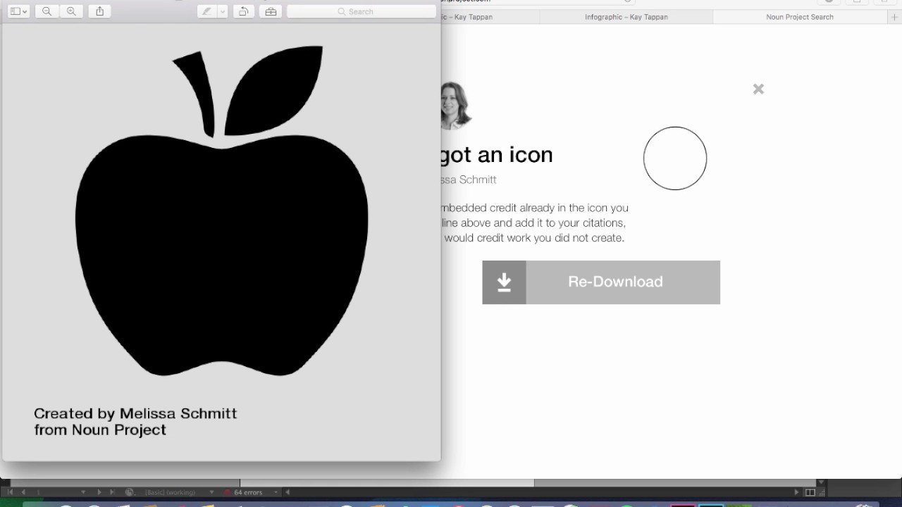 Use icons from the Noun Project in Canva
