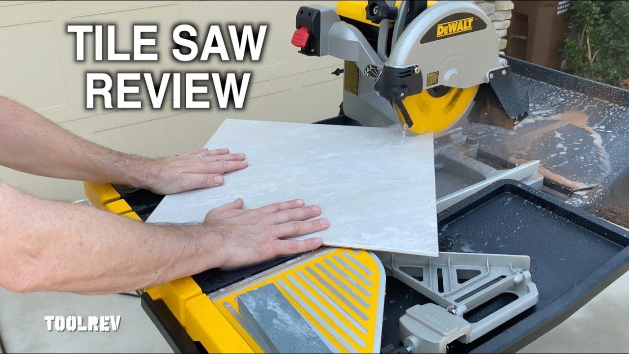 dewalt d24000 10 wet tile saw review
