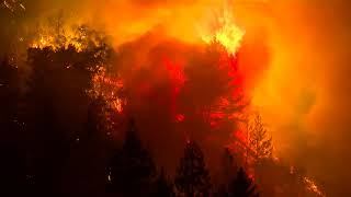 Dramatic video: Flames race through Santa Cruz mountains in Boulder Creek