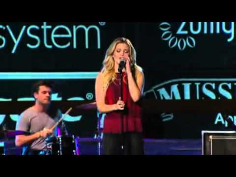 "Olivia Holt performs ""Carry On"" at the Colgate Skating & Gymnastics Spectacular (Live)"