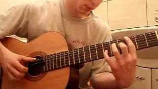 Alf theme intro on guitar