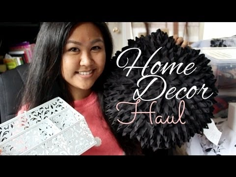 Home Decor Organization Haul Youtube